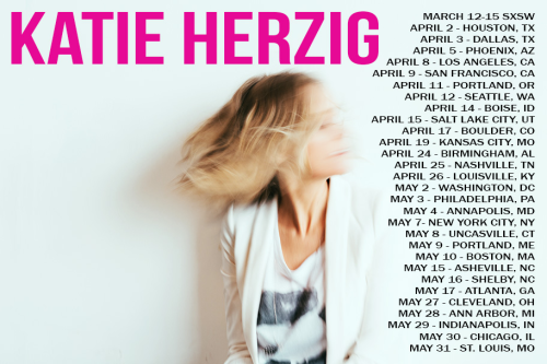 Katie Herzig - Walk Through Walls 2014 Tour